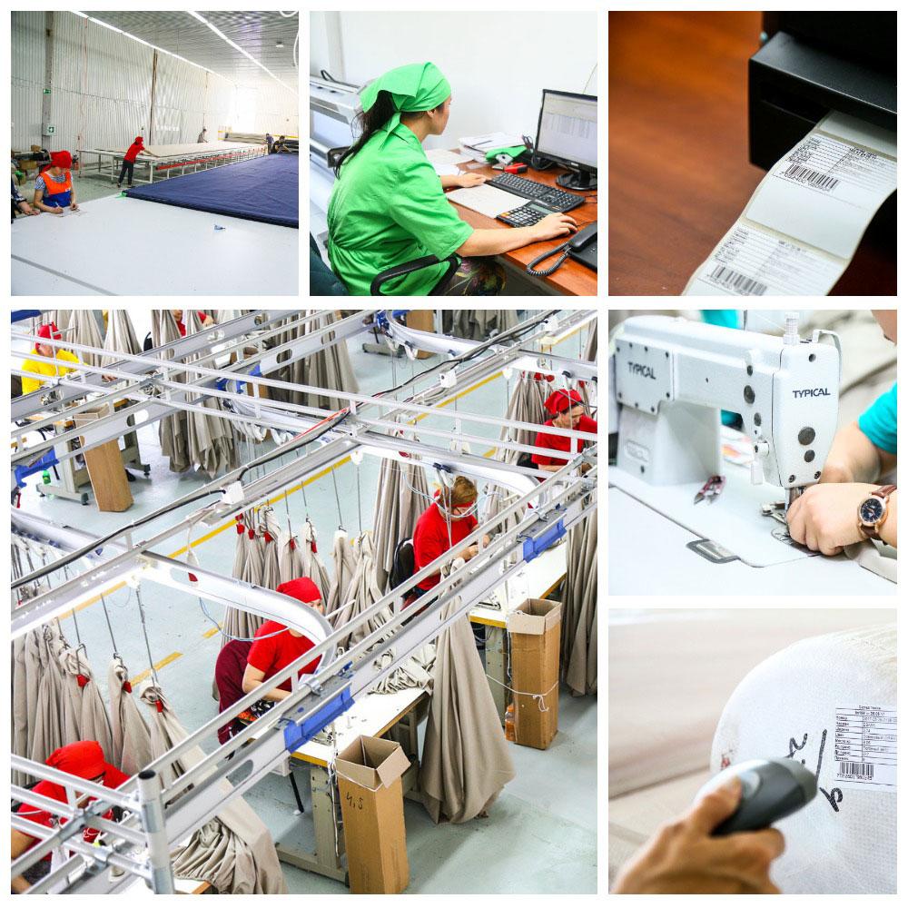 Автоматизированная система управления в легкой промышленности. Цифровые решения в производстве.