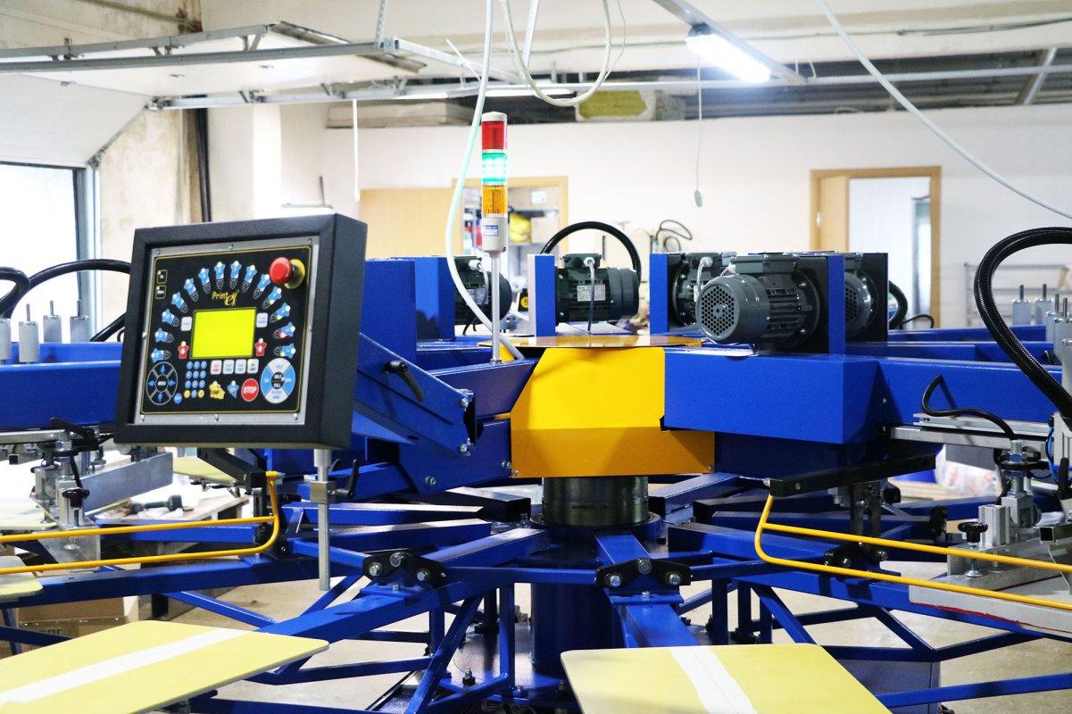 Инсталляция 4-х сервоприводных автоматических карусельных станков «PRINTEX» в различных регионах России