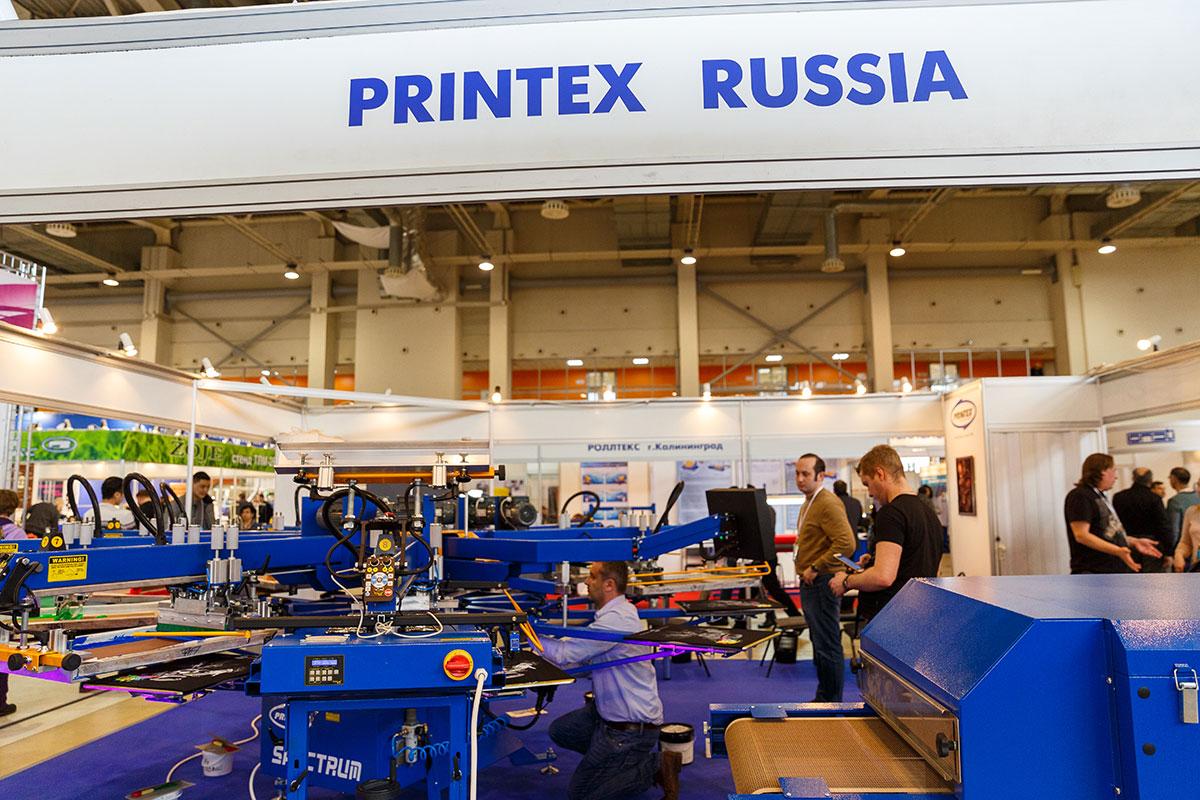 «PRINTEX RUSSIA» УСПЕШНО ПРИНЯЛА УЧАСТИЕ В ВЫСТАВКЕ «ТЕКСТИЛЬЛЕГПРОМ» 2018