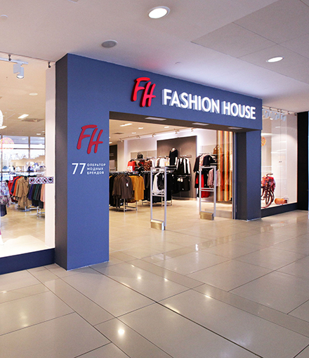 Cеть магазинов Fashion House